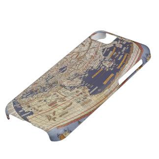 Antique Ptolemaic World Map, Johannes of Arnsheim iPhone 5C Case