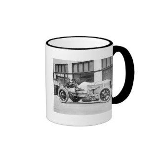 Antique Race Car, 1910s Ringer Mug