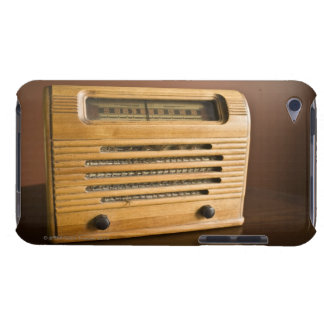 Antique Radio Barely There iPod Cases
