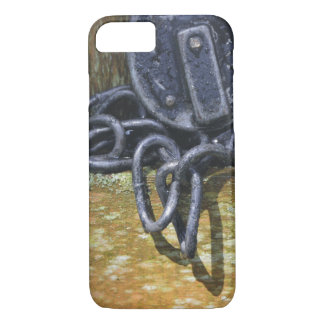 Antique Railroad Lock & Chain iPhone 7 Case