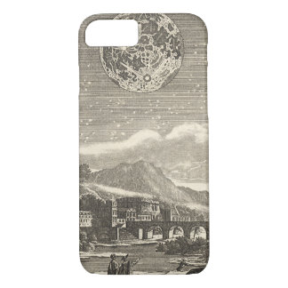 Antique Renaissance Moon by Allain Mallet iPhone 8/7 Case