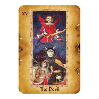 ANTIQUE RENAISSANCE TAROTS 15 / THE DEVIL CARD