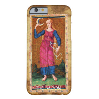ANTIQUE RENAISSANCE TAROTS 18 / THE MOON BARELY THERE iPhone 6 CASE