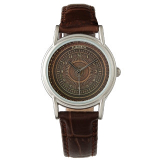 Antique Retro Steampunk Rusty Art Deco Clock Watch