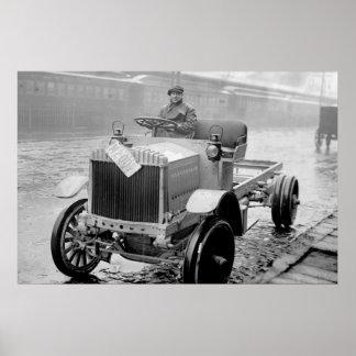 Antique Riker Truck, 1910s Poster