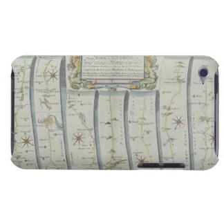 Antique Road Map Barely There iPod Covers