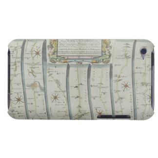 Antique Road Map iPod Case-Mate Case