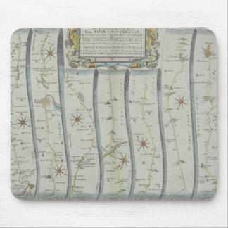 Antique Road Map Mouse Mat