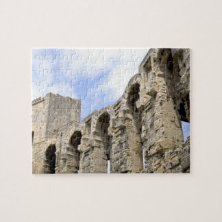 Antique Roman amphitheater's in Arles, 2 Jigsaw Puzzle