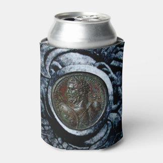 ANTIQUE ROMAN BRONZE MEDALLION ,Silver Griffins Can Cooler