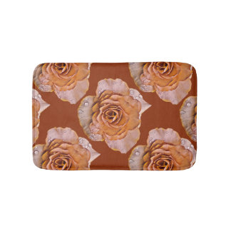 Antique Rose Bath Mat