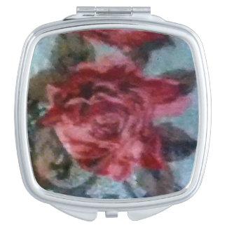 Antique Rose Compact Mirror