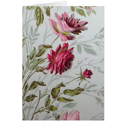 Antique Roses Greeting Cards