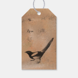 Antique Rustic Bird Gift Tags