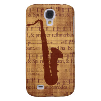 Antique Saxophone Samsung Galaxy S4 Covers