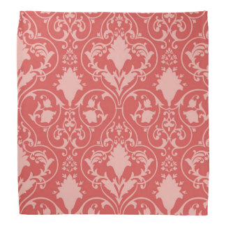 Antique scroll wallpaper 2 bandana