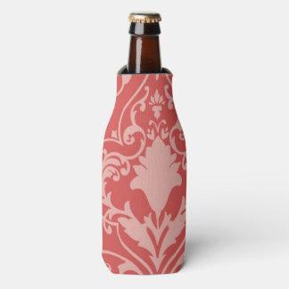 Antique scroll wallpaper 2 bottle cooler