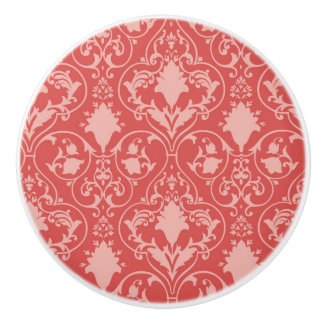 Antique scroll wallpaper 2 ceramic knob