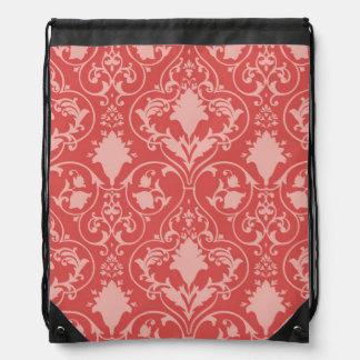 Antique scroll wallpaper 2 drawstring bag