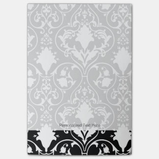 Antique scroll wallpaper 2 post-it notes