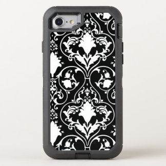 Antique scroll wallpaper OtterBox defender iPhone 8/7 case