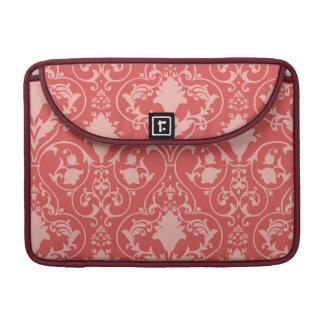 Antique scroll wallpaper sleeve for MacBooks