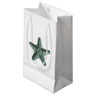 Antique Sea Starfish Illustration Small Gift Bag