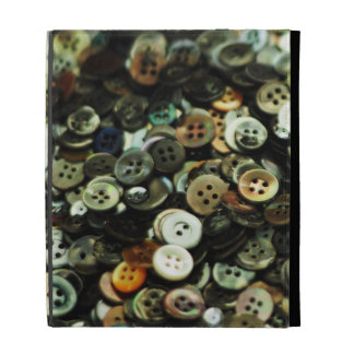 Antique Sewing Buttons iPad Case