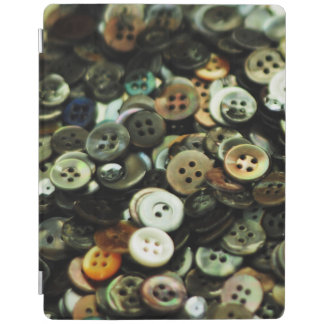 Antique Sewing Buttons iPad Cover