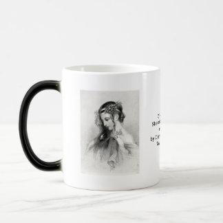 Antique Shakespeare Ophelia John Hayter Portrait Morphing Mug