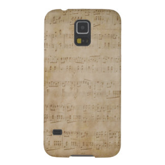 Antique Sheet Music Cases For Galaxy S5
