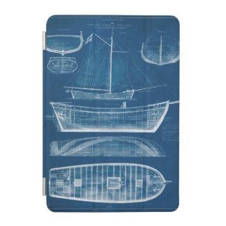 Antique Ship Blueprint II iPad Mini Cover