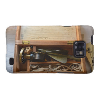 Antique Ship s Log Galaxy SII Cases