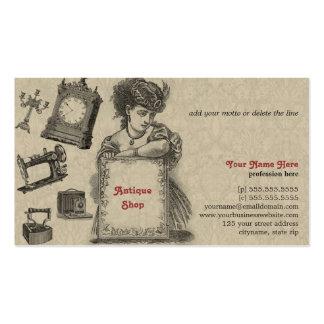 Antique Shop / Antique Dealer / Vintage Art Pack Of Standard Business Cards