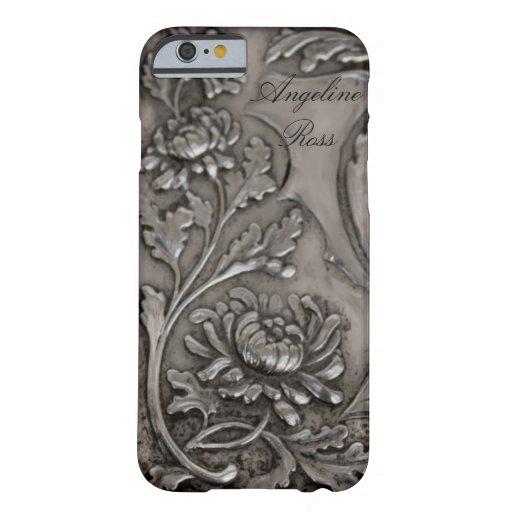 antique silver iPhone 6 case