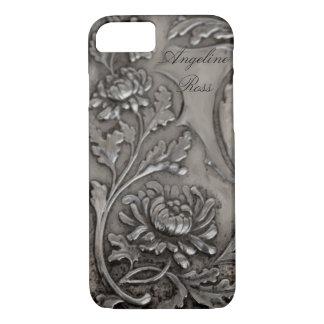 antique silver iPhone 7 case