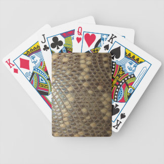 Antique Snakeskin Playing Cards