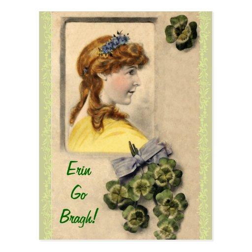 Antique St. Patrick's Day Postcards