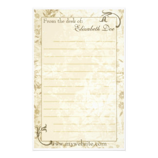 'Antique' Stationery