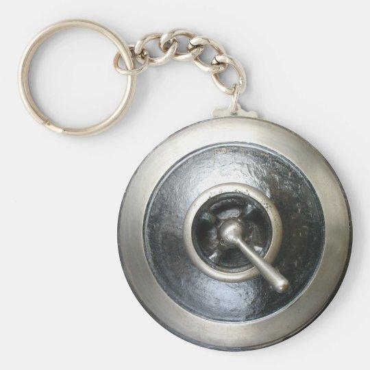 Antique Steam Engine Switch Keychain