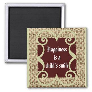 ANTIQUE STYLE CHILD S SMILE MAGNET