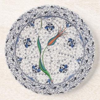Antique style Ottoman porcelain Coaster