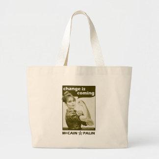 Antique-Style Sarah Palin Tote Bag
