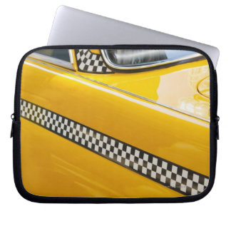 Antique Taxi Laptop Sleeve