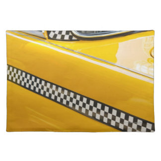 Antique Taxi Placemat