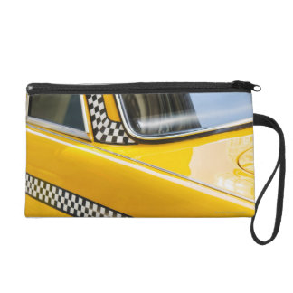 Antique Taxi Wristlet
