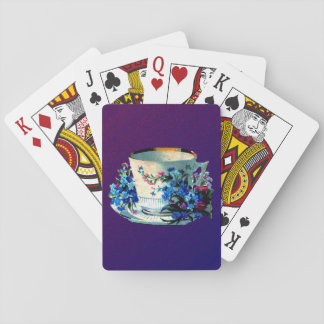 Antique Teacup Playing Cards
