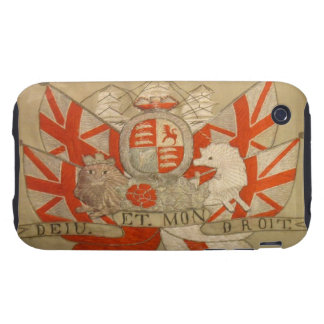 Antique Textile 1 iPhone 3 Tough Case