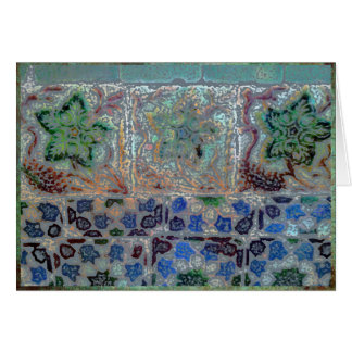 Antique tiles from Portugal. Card