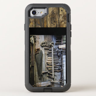 Antique Tools and Wood iPhone Case